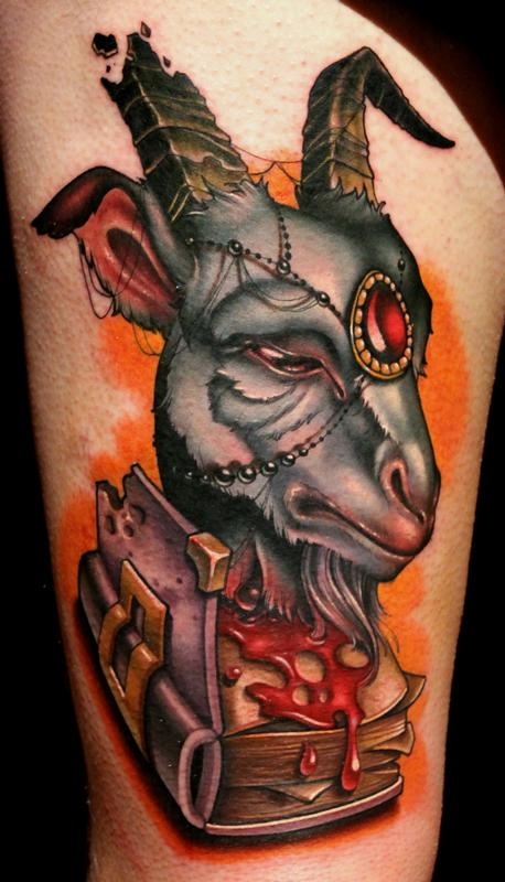 Inkonthis all a book about goats for Bloody ink tattoo price